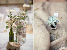 Real Wedding: Outdoorsy DIY Wedding