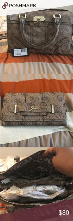 Guess Handbag Guess Handbag  with Wallet included; New with Tags Guess Bags Satchels