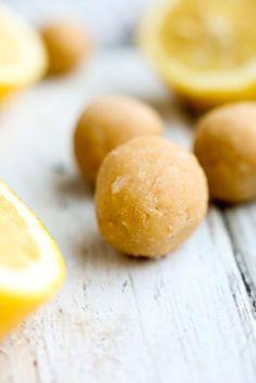 Lemon Coconut Energy Balls