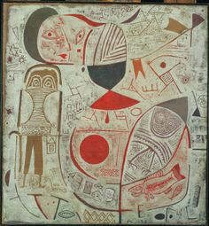 Paul Klee Printed Sheet with Picture 1937 The Phillips Collection