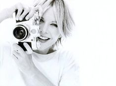50th birthday edition: Today's über-cool celebrity with an über-cool camera: MEG RYAN