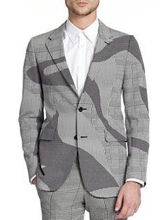 Alexander McQueen - Houndstooth Sportcoat