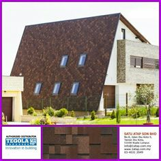Important info!!!!! Your roof is leaking because of too flat? Afraid of falling roof tiles during the earthquake? Want to have a house with the unique shape and unusual shape? Its time to switch Tegola shingle bitumen, modern aphalt shingle made in Italy, the best material, the best system, skilled and experienced applicator. Confused about roof leaks? Dont worry, we are the experts  Visit www.1atap.com.my for more info.
