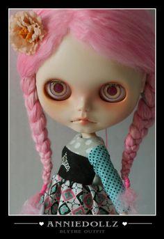 Complete OOAK Custom Blythe Art Doll  by Anniedollz