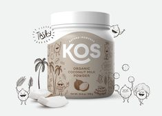 Brand and Packaging Design for a Family of Organic Plant-Based Products / World Brand Design Society Yogurt Packaging, Organic Packaging, Milk Packaging, Food Packaging Design, Coffee Packaging, Packaging Design Inspiration, Branding Design, Chocolate Packaging, Bottle Packaging