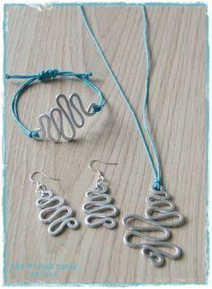 DIY : faire des bijoux en fil d'aluminium