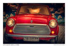 Austin Mini Cooper Print Classic car  poster canvas by Artistico, $32.00