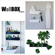 Design din egen vertikale grønne have med WallBOX.. WallBOX er designet som en moderne og stilren box til at hænge på væggen. Fyld den med planter og bring liv og velvære til dit hjem -både inde og ude.