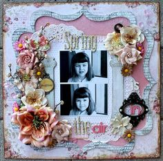 Spring is in the air **Dusty Attic & Pion Design** - Scrapbook.com
