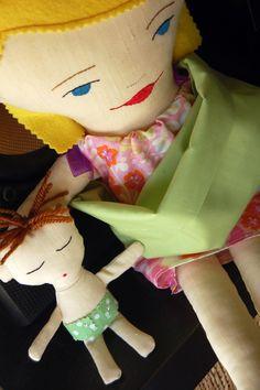 Adorable handmade plush doll, $50 (excludes sending fees). For sale here: http://www.facebook.com/mu.xi.cu - muxicu.handmade@gmail.com
