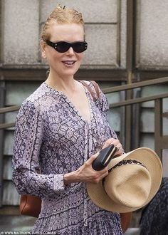 Heaven-sent! Nicole, 53, was seen stepping out in a gorgeous lilac floral dress, which she... Heaven Sent, Stepping Out, Keith Urban, All Smiles, Nicole Kidman, Lilac, Most Beautiful, Celebrity Style, Lifestyle