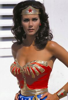 Speaking of young boys fantasies... I even bought a signed photo a few years back. Linda Carter as Wonder Woman!