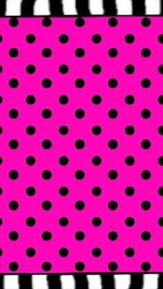 Wallpaper Phone Backgrounds, Wallpaper Backgrounds, Cute Wallpapers, Phone Wallpapers, Pink Nation, Printable Paper, Homescreen, Polka Dots, Wall Papers