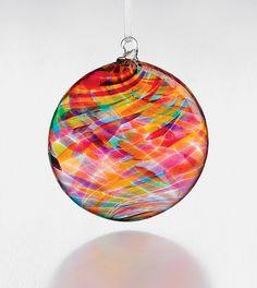 Monet's Dream: Michael Trimpol: Art Glass Ornament - Artful Home
