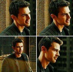 Theo James on Divergent