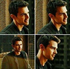 Theo James on Divergent