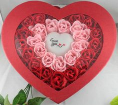 50 Rose Soap Flowers Red 002. For Only $60.99