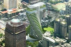 Vincent Callebaut's Agora Garden tower promises green and luxurious living in Taipei