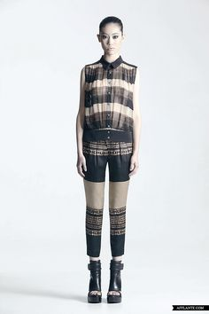 SS'12 Fashion Collection 'The Black Stripe' // CC KUO   Afflante.com