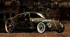 does anyone like steampunk inspired cars ? - Imgur