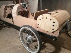 Bugatti Brescia John Church, UK