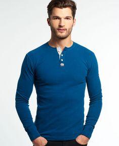 SUPERDRY Angebote Superdry Heritage Grandad-Shirt: Category: Herren /  Oberteile / Grandad-