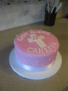 First Communion Cakes for Girls | CommunionCakeApril20100007