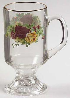 Royal Albert Old Country Roses Glassware Irish Coffee