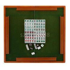 NEW Travel GAME Portable Mah Jong Foldable Mahjong Table Set Blue ML 006. #Travel #GAME #Portable #Jong #Foldable #Mahjong #Table #Blue