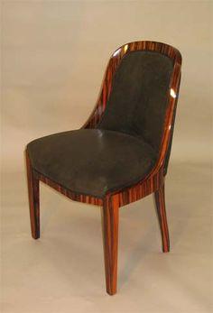 Beautiful art deco chair