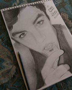 Ethan Dolan   Dolan twins drawings  Ethan create tattoo Graphite drawing /Follow my IG for more @rawandrawings