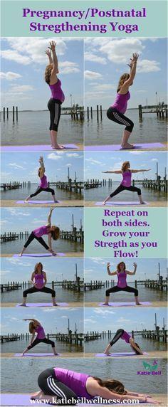 Pregnancy Postnatal Stregthening Yoga