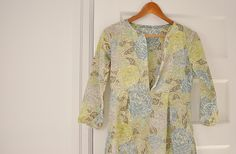 Liberty of London Schoolhouse Tunic by the workroom, via Flickr