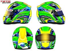 Racing Helmets Garage: Arai GP-6 H.Hoffmann 2012 by Tato Designs
