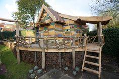 sloophout boomhut (vintage wood treehouse)