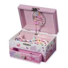 Childrens Butterfly Ballerina Jewelry Box. Sale priced at $21.  (Jewelry not included(.