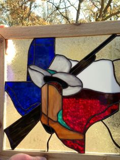 Don't Mess with Texas by Robin Cooper Stained Glass Designs, Stained Glass Patterns, Stained Glass Art, Stained Glass Windows, Window Glass, Wine Bottle Wall, Texas Star, Lone Star State, Horseshoe Art