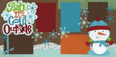 Baby It's Cold Outside Page Kit-Out on Limb Scrapbooking
