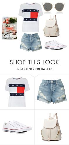 """Bez tytułu #735"" by dodka529 on Polyvore featuring moda, Tommy Hilfiger, 3x1, Converse i Christian Dior"