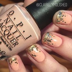 OPI Hopelessly in love, with glitter ombre nail art Ombre Nail, Opi, My Design, Nail Polish, Glitter, Nail Art, Nails, Enamel, Finger Nails