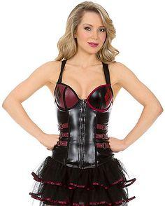 Arkham Harley Quinn Corset - Spirithalloween.com