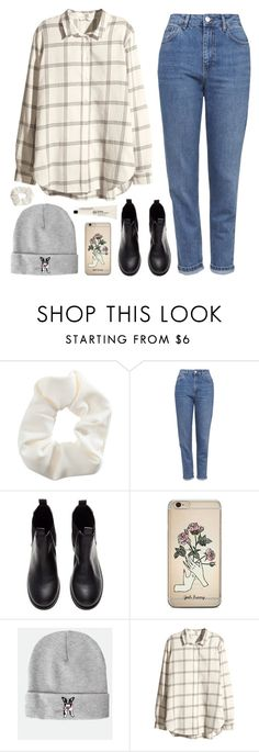 """Hannah"" by soym ❤ liked on Polyvore featuring Topshop and H&M"