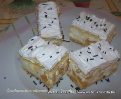 Küldök én is egy receptet! Krispie Treats, Rice Krispies, Cheese, Baking, Cake, Food, Travel, Viajes, Bakken