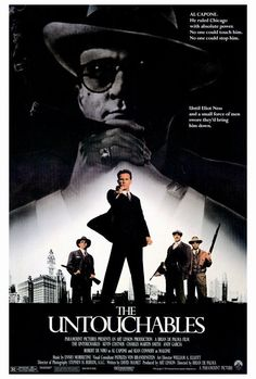 The Untouchables 27x40 Movie Poster (1987)