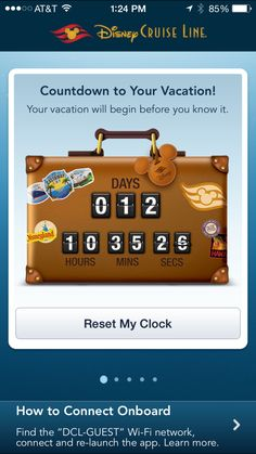 Guests traveling on the Disney Cruise Line ships have long relied on the Personal Navigator, a daily printed guide to information about the timing of onboard activities such as movies, shows, character greetings, and youth activities. In late 2013, D