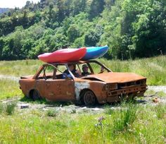 Whatever it takes to get to the river.