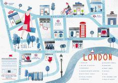 London Shopping Map, London Shopping Guide