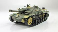 1:72 StuG.III Ausf.G German self-propelled artillery unit Fabbri model & mag №16