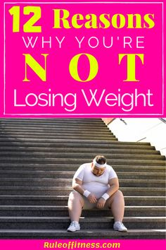 Are you stuck with your weight loss journey? read these 12 reasons why you can't lose weight. Burning fat and losing weight can be hard. Do you know why you stopped losing weight? Losing Weight Tips, Weight Loss Tips, How To Lose Weight Fast, Weight Loss Snacks, Healthy Weight Loss, Healthy Food, Lower Stomach Fat, Fat Burning Drinks, Fat Burning Workout