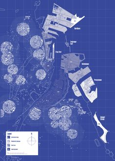 Map of Copenhagen - In-Between Economies #1